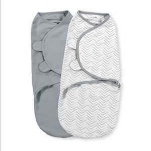 Large SwaddleMe 2pk Herringbone